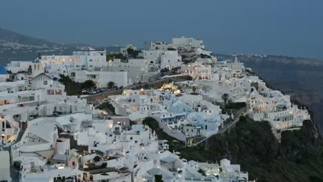 Greece-Santorini-Fira-Lights-Coming-On