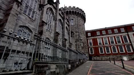 Ireland-Dublin-Castle-And-Courtyard-