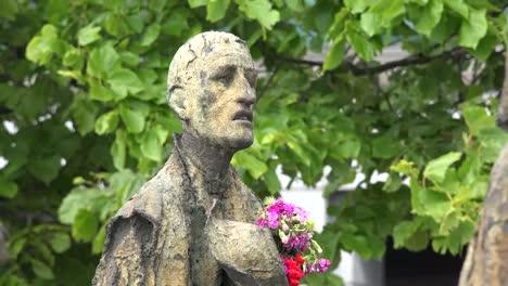 Irland-Dublin-Hungersnot-Denkmal-Hungernder-Mann
