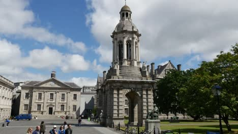 Ireland-Dublin-Trinity-College-Bell-Tower-View
