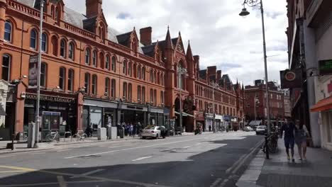 Ireland-Dublin-Red-Brick-Buildings-Pan-And-Zoom
