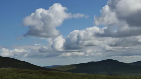 Ireland-Wicklow-Mountains-With-Clouds