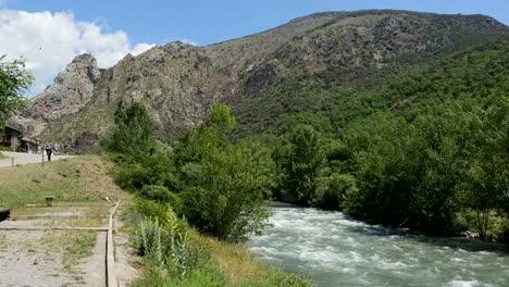Spain-Pyrenees-Gerri-De-La-Sal-Noguera-Pallaresa-River
