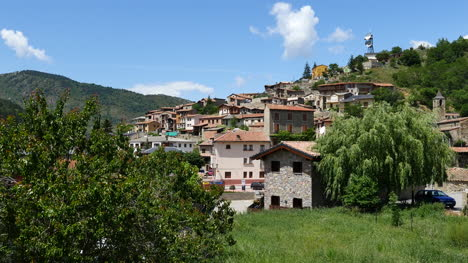 Spain-Pyrenees-Martinet-A-Small-Town