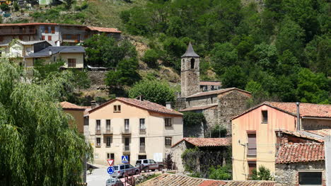 Spain-Pyrenees-Martinet-View-Of-Church
