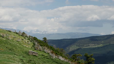 Spain-Pyrenees-From-La-Molina-View-In-Sun
