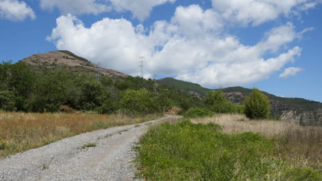 Spain-Pyrenees-Gravel-Road-Leading-Up
