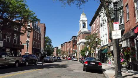 Usa-Boston-Hanover-Street-North-End