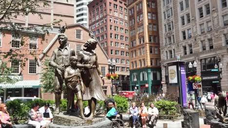 Memorial-De-Hambre-De-Patata-Irlandesa-De-Estados-Unidos-Boston