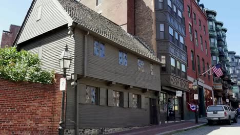 Usa-Boston-Paul-Revere-House