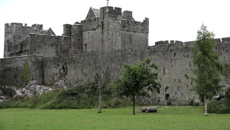 Ireland-Cahir-Castle-With-Strong-Towers-