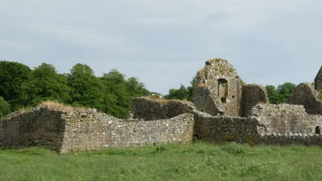 Ireland-Cashel-Hore-Abbey-Ruined-Walls
