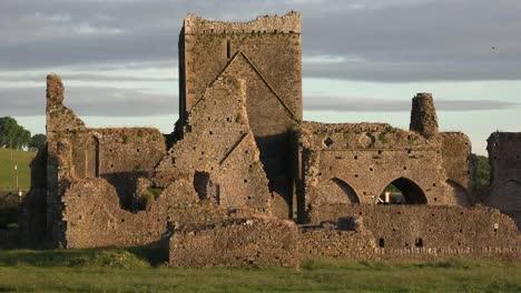 Ireland-Cashel-Hore-Abbey-Tower-Evening-Light