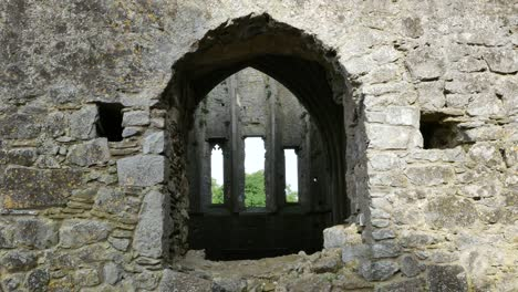 Ireland-Cashel-Hore-Abbey-Windows-Through-Church