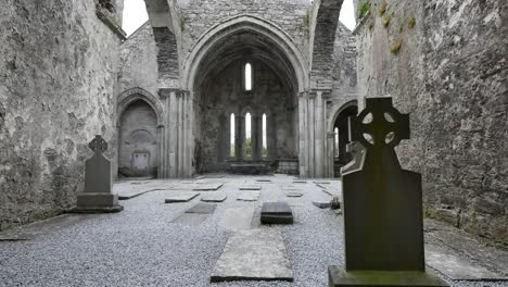 Ireland-Corcomroe-Abbey-Interior-Beyond-Celtic-Cross