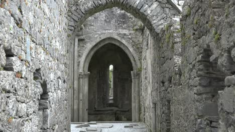 Ireland-Corcomroe-Abbey-Looking-Toward-Gothic-Arches-
