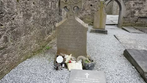 Ireland-Corcomroe-Abbey-Tombstone-On-Church-Floor
