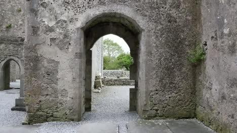 Ireland-Corcomroe-Abbey-View-Through-Doors-Zoom-In
