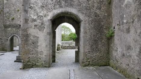 Ireland-Corcomroe-Abbey-View-Through-Doors