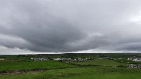 Ireland-County-Clare-Doolin-Under-Dark-Cloudy-Sky