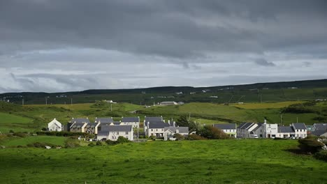 Ireland-County-Clare-Doolin-Village-Sun-And-Shadow