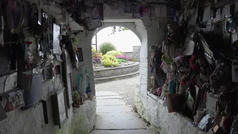 Ireland-County-Clare-Looking-Out-From-St-Brigids-Holy-Well