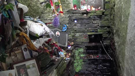 Ireland-County-Clare-Offerings-And-Water-At-St-Brigids-Holy-Well