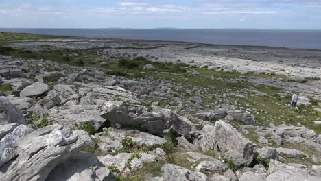 Ireland-County-Clare-The-Burren-At-Black-Head-With-Shadows-