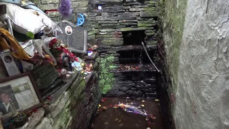 Ireland-County-Clare-Water-Dripping-At-St-Brigids-Holy-Well
