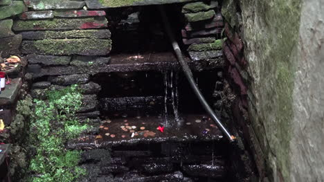 Ireland-County-Clare-Water-Splashing-At-St-Brigids-Holy-Well