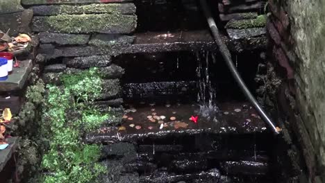 Ireland-County-Clare-Zooms-In-On-Water-At-St-Brigids-Holy-Well-Zoom-In