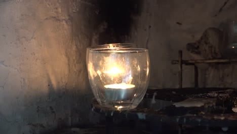 Ireland-County-Clare-Zooms-On-Candles-At-St-Brigids-Holy-Well