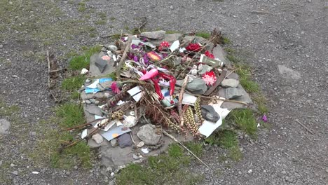 Ireland-County-Cork-Drombeg-Stone-Circle-Offerings-Zoom-In