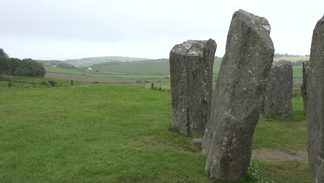 Ireland-County-Cork-Drombeg-Stone-Circle-With-Man