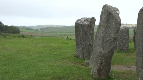 Ireland-County-Cork-Drombeg-Stone-Circle-With-Man