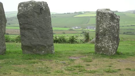 Ireland-County-Cork-Drombeg-Stone-Circle-With-Misty-View