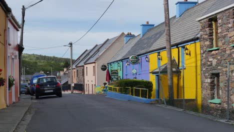 Ireland-Dingle-Peninsula-Cloghane-Village-Street-With-Buildings