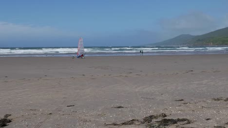Ireland-Dingle-Peninsula-Inch-Beach-With-Wind-Buggy