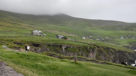 Ireland-Dingle-Peninsula-Farms-Along-Coast