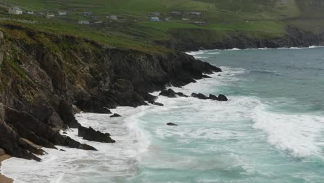 Ireland-Dingle-Peninsula-Waves-On-Rocks-And-Sand-Pan