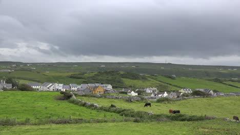 Ireland-Doolin-Village-Under-Dark-Clouds