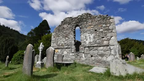 Irland-Glendalough-Keltische-Kloster-Kathedrale