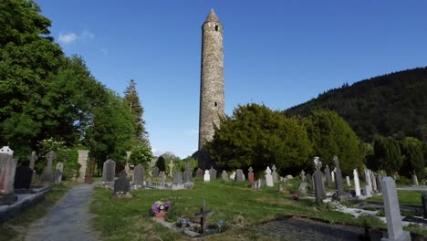 Ireland-Glendalough-Celtic-Monastic-Site-Sun-To-Shadow