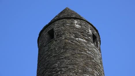 Ireland-Glendalough-Round-Tower-Top