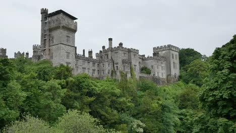 Ireland-Lismore-Castle-Above-Trees-On-Slope-
