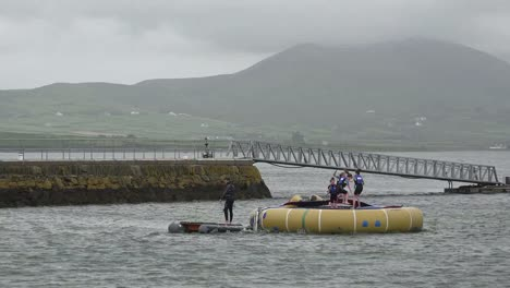 Ireland-Ring-Of-Kerry-Kids-Jumping-On-Float