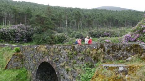 Ireland-The-Vee-Bridge-With-People