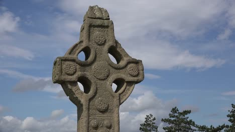 Ireland-Clonmacnoise-South-Cross-Close-Up