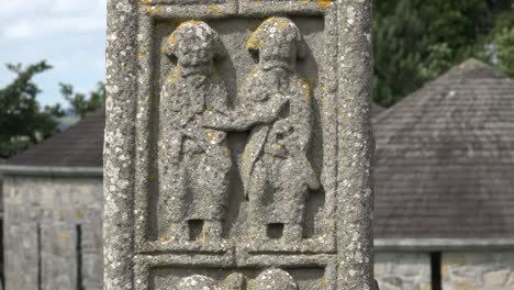 Ireland-Clonmacnoise-Carved-Figures-On-A-High-Cross