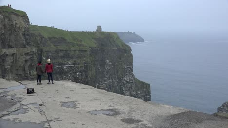 Ireland-County-Clare-Cliffs-Of-Moher-People-On-Edge-